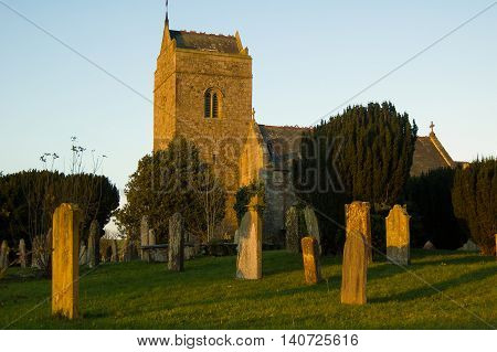 St Bridget's Church at Brigham near Cockermouth, Cumbria