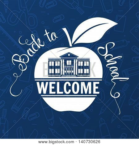 Back To School Greating Card.