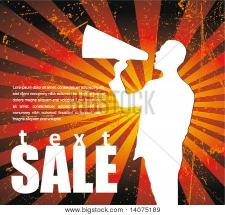 sale announcement sign