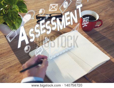 Assessment Audit Control Evaluation Report Concept