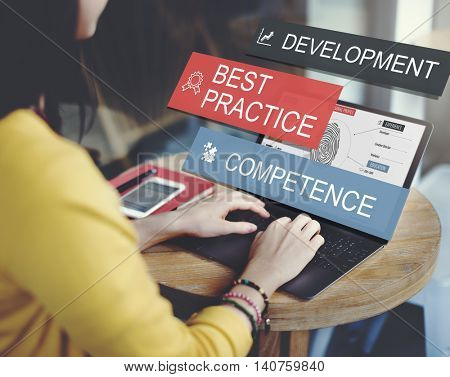 Development Practice Competence Skilled Talent Concept