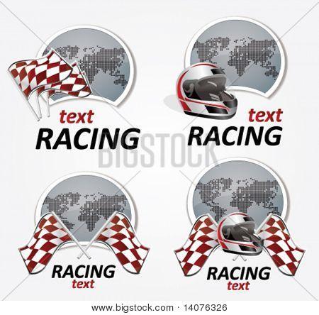 racing signs
