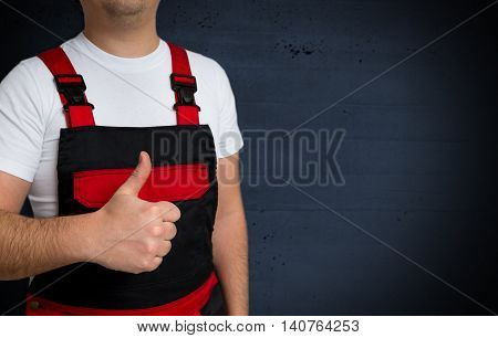 Thumbs Up Is Shown By Craftsman Template