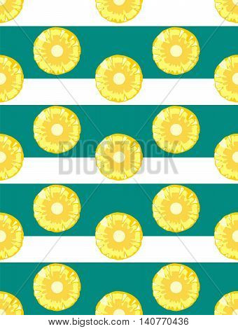 Pineapple vector background. Pineapple vector seamless pattern. Tropical juicy background. Fresh design for printing on fabric packaging paper bags clothes. menu. Pineapple vector background. Juice menu fresh menuwallpaper.