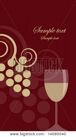 Wine background