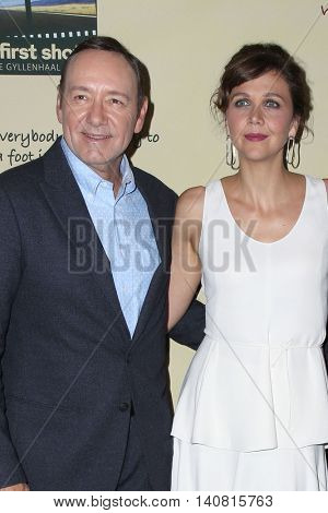 LOS ANGELES - JUL 30:  Kevin Spacey, Maggie Gyllenhaal at the Jameson's