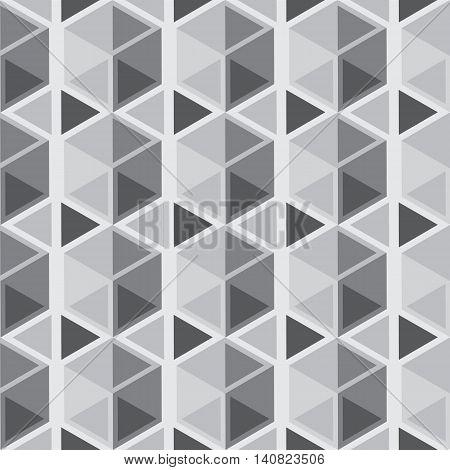 Seamless geometric pattern. Vector repeating texture. Geometric simple print. Monochromatic background.