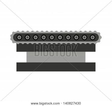 band machine boxes icon vector isolated graphic