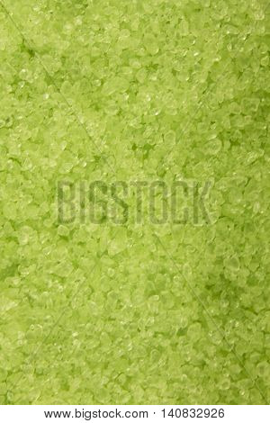 This is a photograph of Dead sea bath salts and minerals background