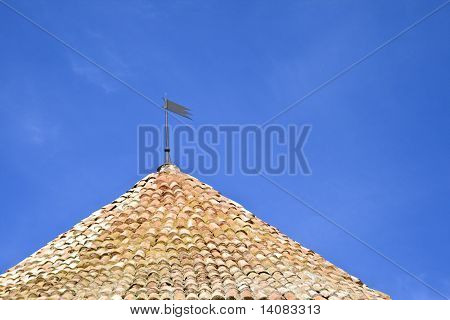 Roof Of An Old Tower