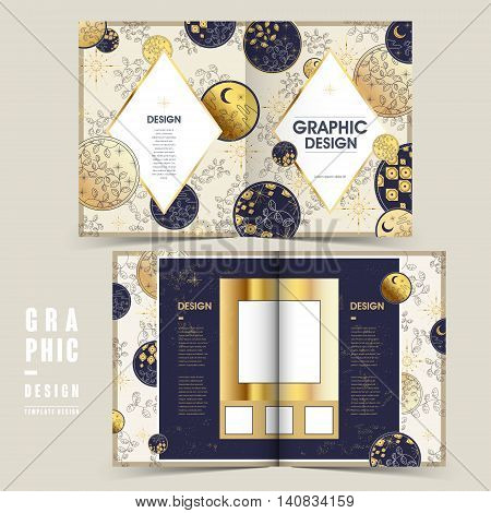Delicate Bi-fold Brochure