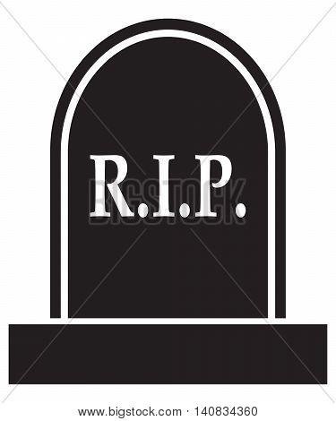 graveyard RIP Icon coffin death rest in peace dead cross shape