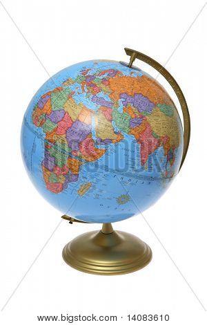 Globe (Europe and Africa)