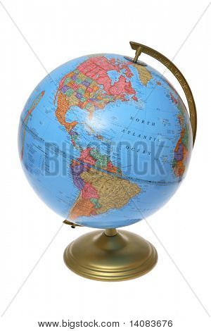 Globe (North and South America)