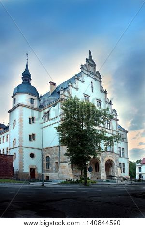 City courthouse law building in Brzeg Poland
