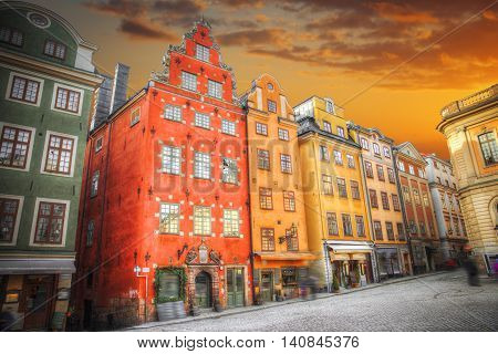 Stortorget Place In Gamla Stan
