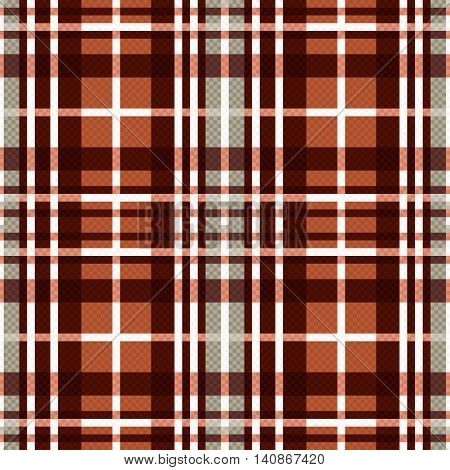 Seamless Rectangular Pattern In Brown And Light Gray