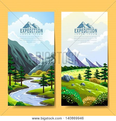 Expedition Banner Design