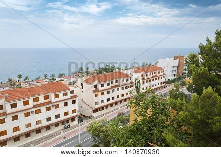 Views of Santa Pola. It is a coastal town located in the comarca of Baix Vinalopo in the Valencian Community Alicante Spain by the Mediterranean Sea.
