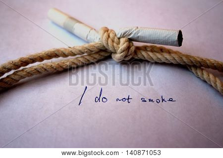 I do not smoke, cigarette, tobacco, harmful, health, problem, disease, habit,