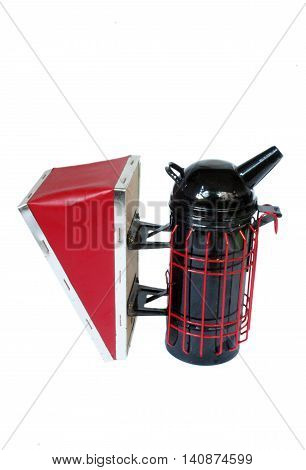 Bee smoker, hive tool essential for working with bees