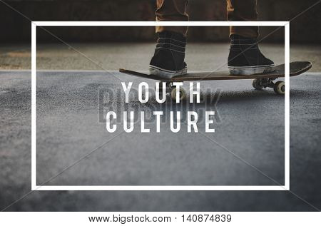 Youth Culture Young Childhood Teenagers Generation Concept