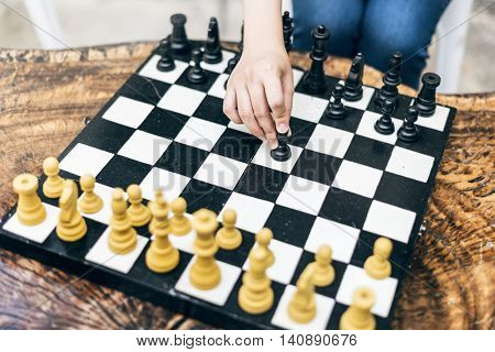 Chess Game Strategy Thinking Hobbies Leisure Concept