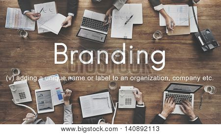 Branding Brand Copyright Label Logo Product Concept