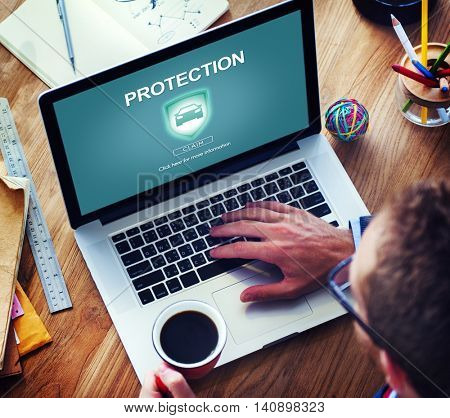 Protection Privacy Policy Private Unsurance Concept
