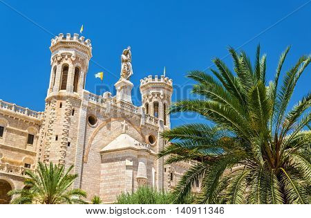 Notre Dame of Jerusalem Center, built in 1885, - Israel
