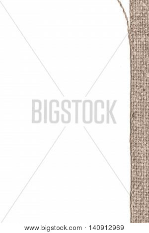 Textile linen fabric industry buff canvas obsolete material abstract background