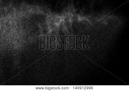Abstract Splashes Of Water