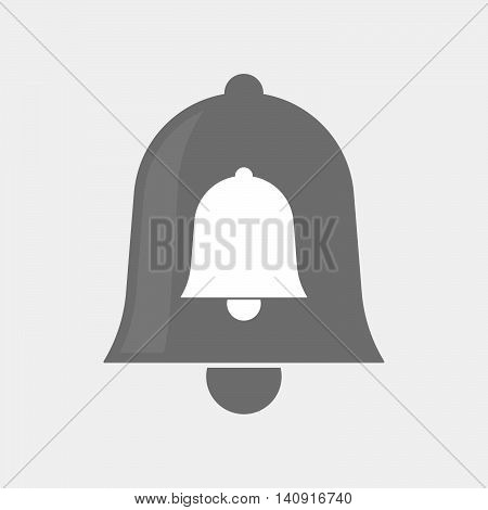 Isolated Bell Icon With A Bell