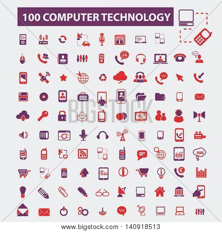 computer technology icons