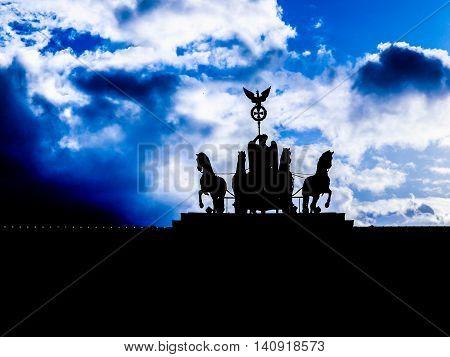 Brandenburger Tor Berlin Hdr