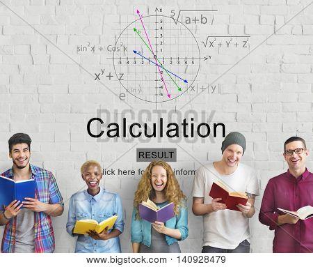 Equation Formula Geometry Calculation Concept