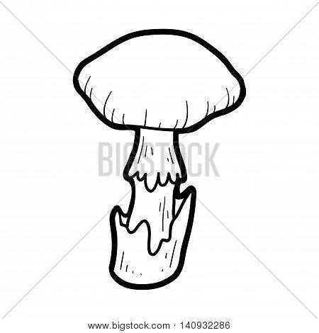 Coloring Book. Inedible Mushrooms, Death Cap