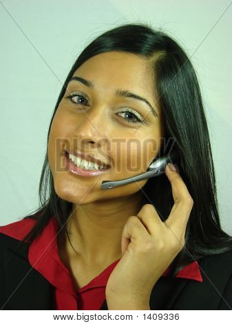 Asian Customer Service Operator