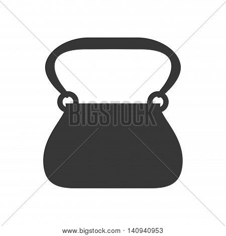 purse payment accesory shopping icon. Isolated and flat illustration. Vector graphic