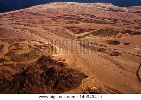 Desert With Road
