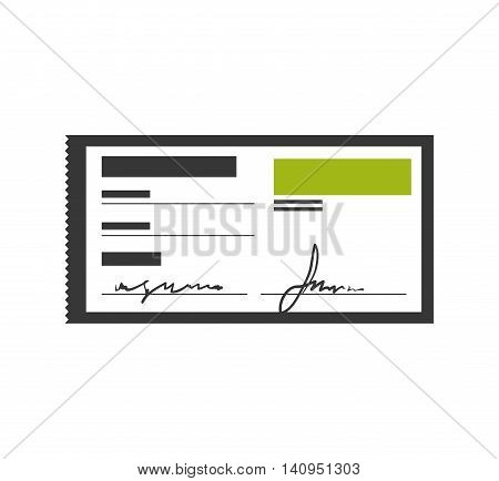 check money payment buy icon. Isolated and flat illustration. Vector graphic