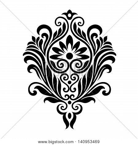 Vector . Victorian style. Ornate element for design and place for text. Ornamental patterns for wedding invitations, birthday and greeting cards.