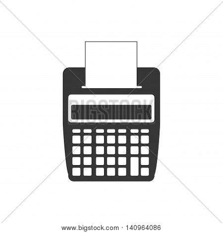 dataphone money payment financial item buy icon. Isolated and flat illustration. Vector graphic