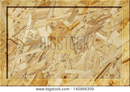 OSB wooden blank notice-board wood notice board billboard