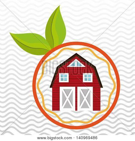 farm food ranch nature vector illustration graphic