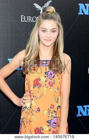 LOS ANGELES - AUG 1:  Lizzy Greene at the