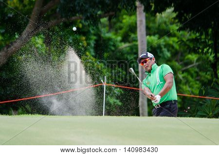 CHONBURI - JULY 31 : Chapchai Nirat of Thailand in King's Cup 2016 at Phoenix Gold Golf & Country Club Pattaya on July 31 2016 in Chonburi Thailand.