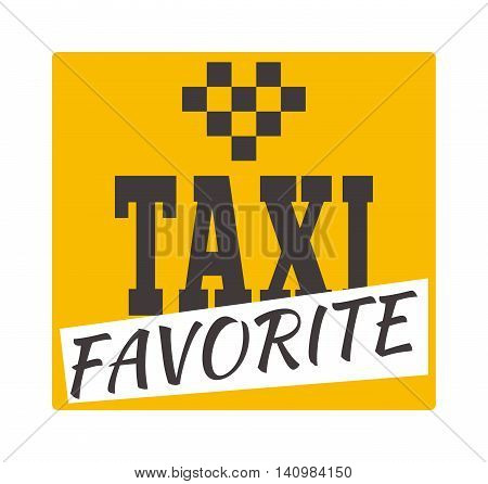 Vintage and modern taxi logo taxi label, taxi badge and design element