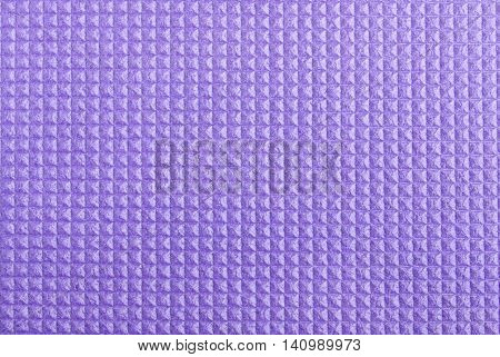 Fitnes Mat with Square Soft texture Close Up