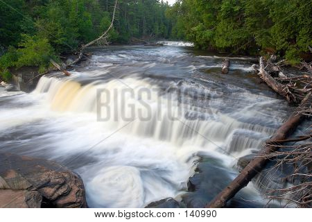 Great Lakes Waterfall